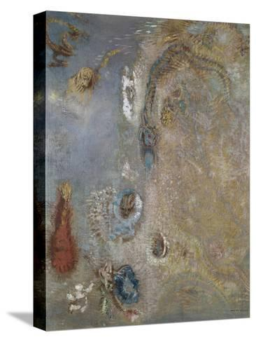 Abstract Fantasy-Odilon Redon-Stretched Canvas Print