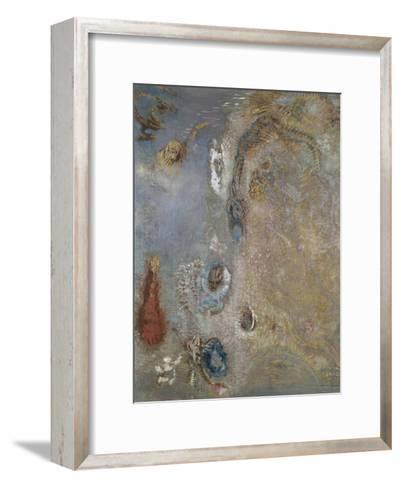 Abstract Fantasy-Odilon Redon-Framed Art Print