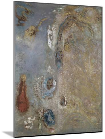Abstract Fantasy-Odilon Redon-Mounted Giclee Print