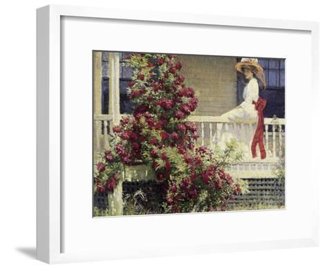 The Crimson Rambler-Philip Leslie Hale-Framed Art Print