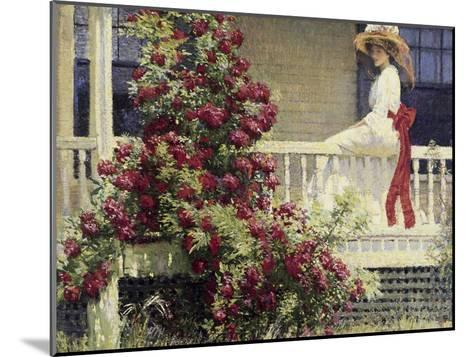 The Crimson Rambler-Philip Leslie Hale-Mounted Giclee Print