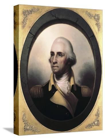 George Washington-James Peale-Stretched Canvas Print