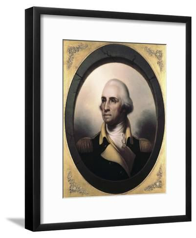 George Washington-James Peale-Framed Art Print