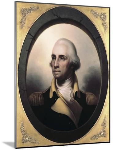 George Washington-James Peale-Mounted Giclee Print