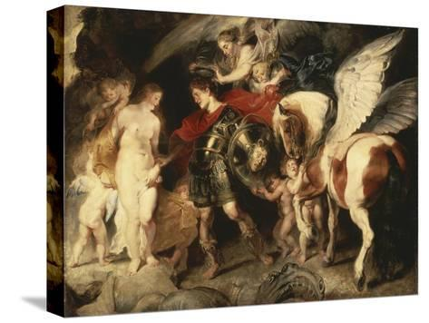 Perseus Liberating Andromeda-Peter Paul Rubens-Stretched Canvas Print