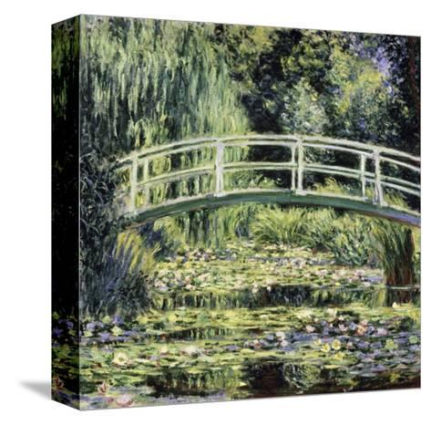 White Water Lilies-Claude Monet-Stretched Canvas Print