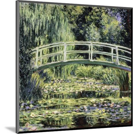 White Water Lilies-Claude Monet-Mounted Giclee Print
