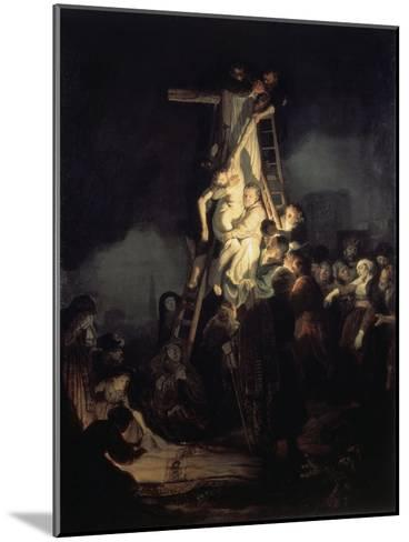 The Descent from the Cross-Rembrandt van Rijn-Mounted Giclee Print
