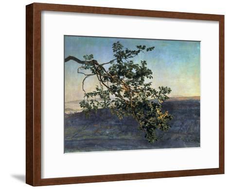The Branch-Aleksandr Andreevich Ivanov-Framed Art Print