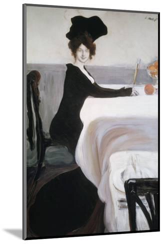 Breakfast-Leon Bakst-Mounted Giclee Print