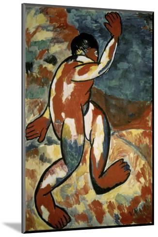 Bather, c.1911-Kasimir Malevich-Mounted Giclee Print