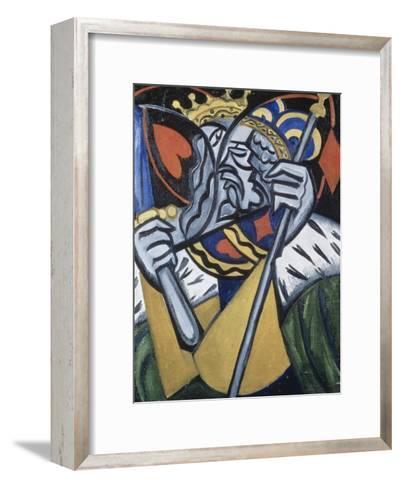 Composed Image of Kingsc-Olga Vladimirovna Rozanova-Framed Art Print