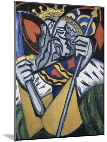 Composed Image of Kingsc-Olga Vladimirovna Rozanova-Mounted Giclee Print