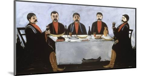 Feast of Five Princes, c.1906-Niko Pirosmanashvili-Mounted Giclee Print
