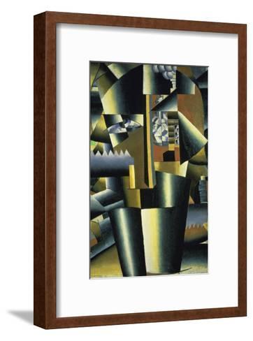 Portrait of the Artist, c.1913-Kasimir Malevich-Framed Art Print
