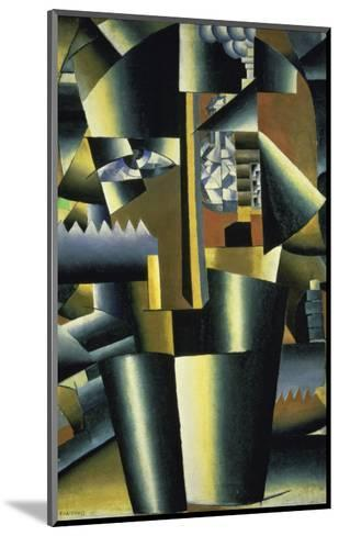 Portrait of the Artist, c.1913-Kasimir Malevich-Mounted Giclee Print