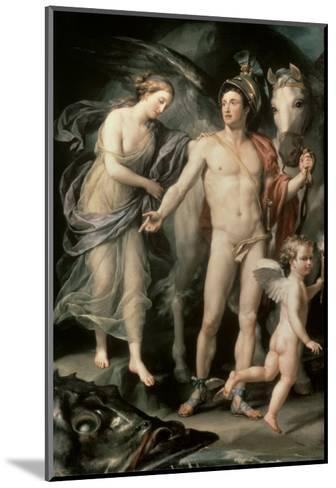 Perseus and Andromeda, c.1777-Anton Raphael Mengs-Mounted Giclee Print