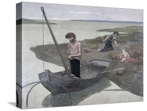 The Poor Fisherman-Pierre Puvis de Chavannes-Stretched Canvas Print
