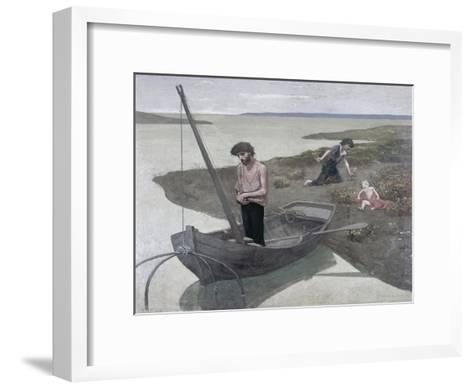 The Poor Fisherman-Pierre Puvis de Chavannes-Framed Art Print