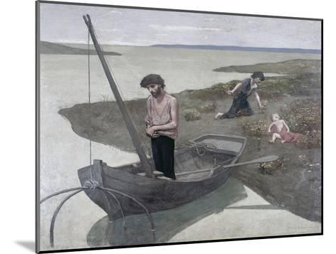 The Poor Fisherman-Pierre Puvis de Chavannes-Mounted Giclee Print
