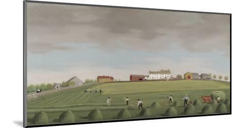 Ralph Wheelocks Farm, c.1822-Francis Alexander-Mounted Giclee Print