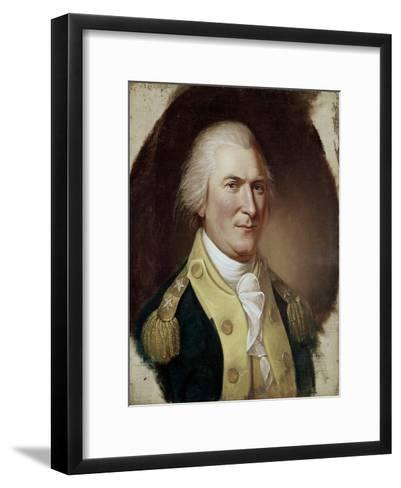 Governor Arthur St Clair-Charles Willson Peale-Framed Art Print