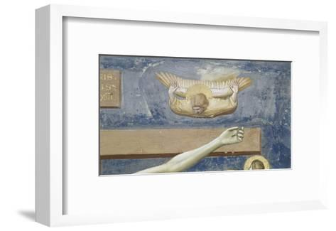Detail of The Crucifixion-Giotto di Bondone-Framed Art Print