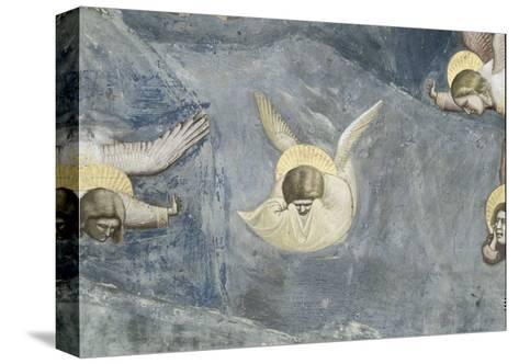 The Lamentation-Giotto di Bondone-Stretched Canvas Print