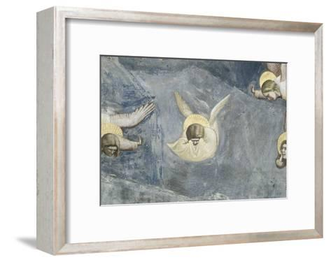 The Lamentation-Giotto di Bondone-Framed Art Print