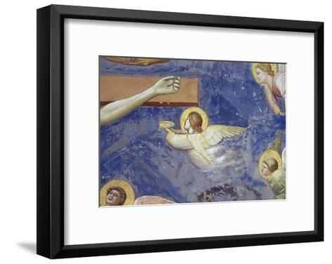 Detail of Angels Crucifixion-Giotto di Bondone-Framed Art Print