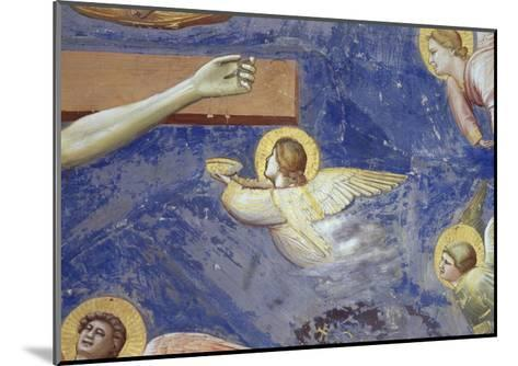 Detail of Angels Crucifixion-Giotto di Bondone-Mounted Giclee Print