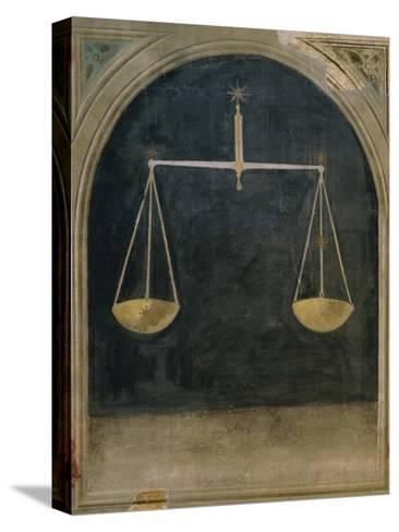 Libra, Astrology--Stretched Canvas Print