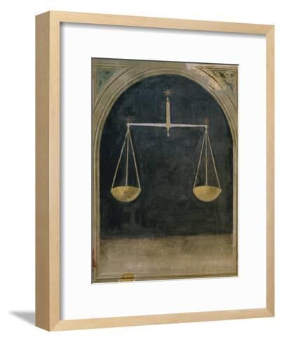 Libra, Astrology--Framed Art Print