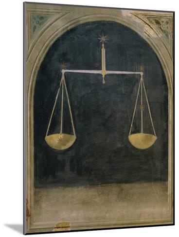 Libra, Astrology--Mounted Giclee Print