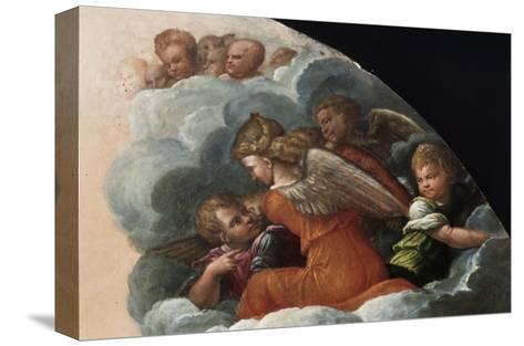The Annunciation-Benvenuto Tisi Da Garofalo-Stretched Canvas Print