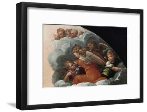 The Annunciation-Benvenuto Tisi Da Garofalo-Framed Art Print