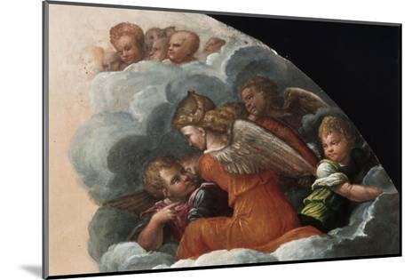 The Annunciation-Benvenuto Tisi Da Garofalo-Mounted Giclee Print