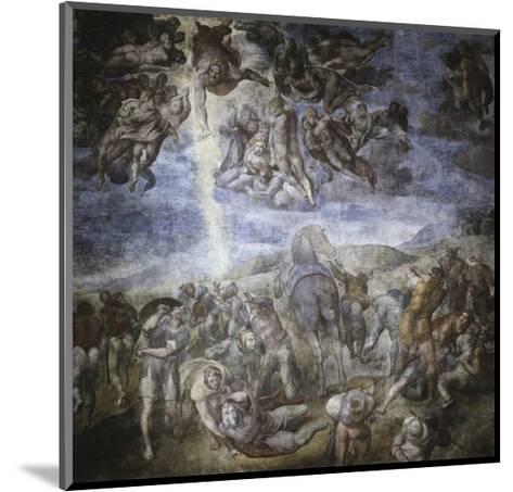 The Conversion of Saul-Michelangelo Buonarroti-Mounted Giclee Print