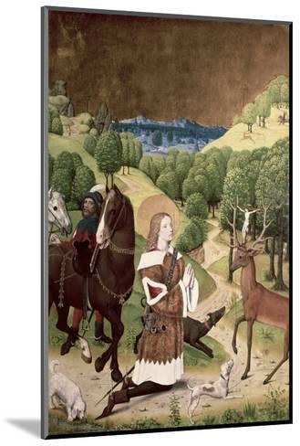Conversion of St. Hubert-Master Of Werden-Mounted Giclee Print