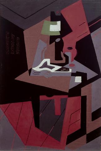Composicion-Juan Gris-Stretched Canvas Print