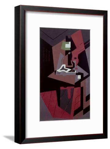Composicion-Juan Gris-Framed Art Print