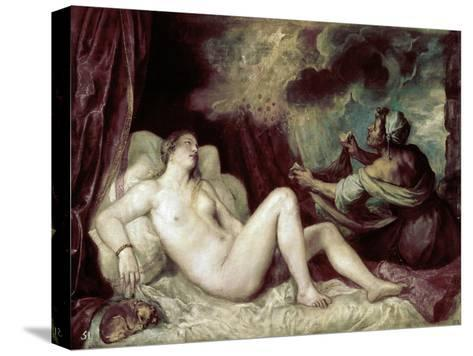 Diana-Titian (Tiziano Vecelli)-Stretched Canvas Print