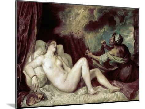 Diana-Titian (Tiziano Vecelli)-Mounted Giclee Print