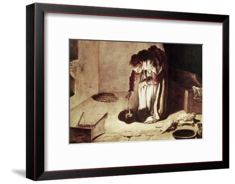 The Lost Coin-Domenico Fetti-Framed Art Print