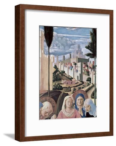 Detail of the Deposition, no.3, c.1438-1445-Fra Angelico-Framed Art Print
