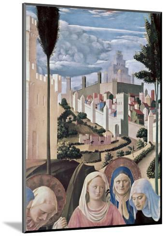Detail of the Deposition, no.3, c.1438-1445-Fra Angelico-Mounted Giclee Print