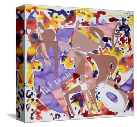 Abstract Jazz, c.1997-Gil Mayers-Stretched Canvas Print