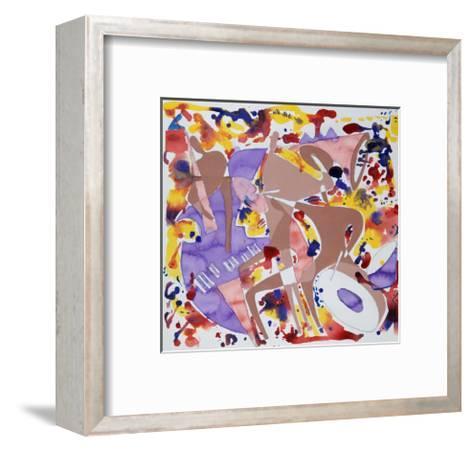 Abstract Jazz, c.1997-Gil Mayers-Framed Art Print