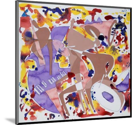 Abstract Jazz, c.1997-Gil Mayers-Mounted Giclee Print