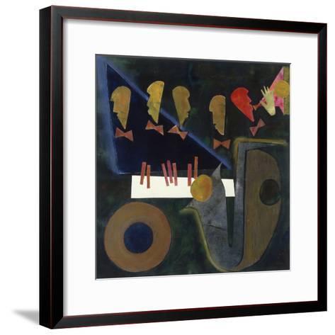 Blue Tune, c.1998-Gil Mayers-Framed Art Print
